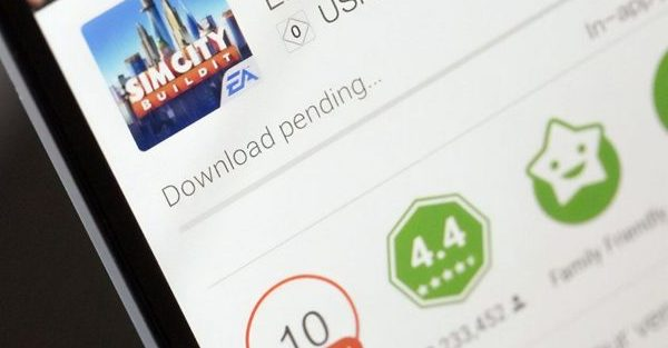 download pending, android