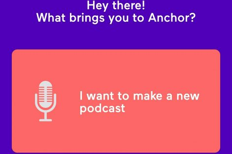 Making a new podcast on Anchor